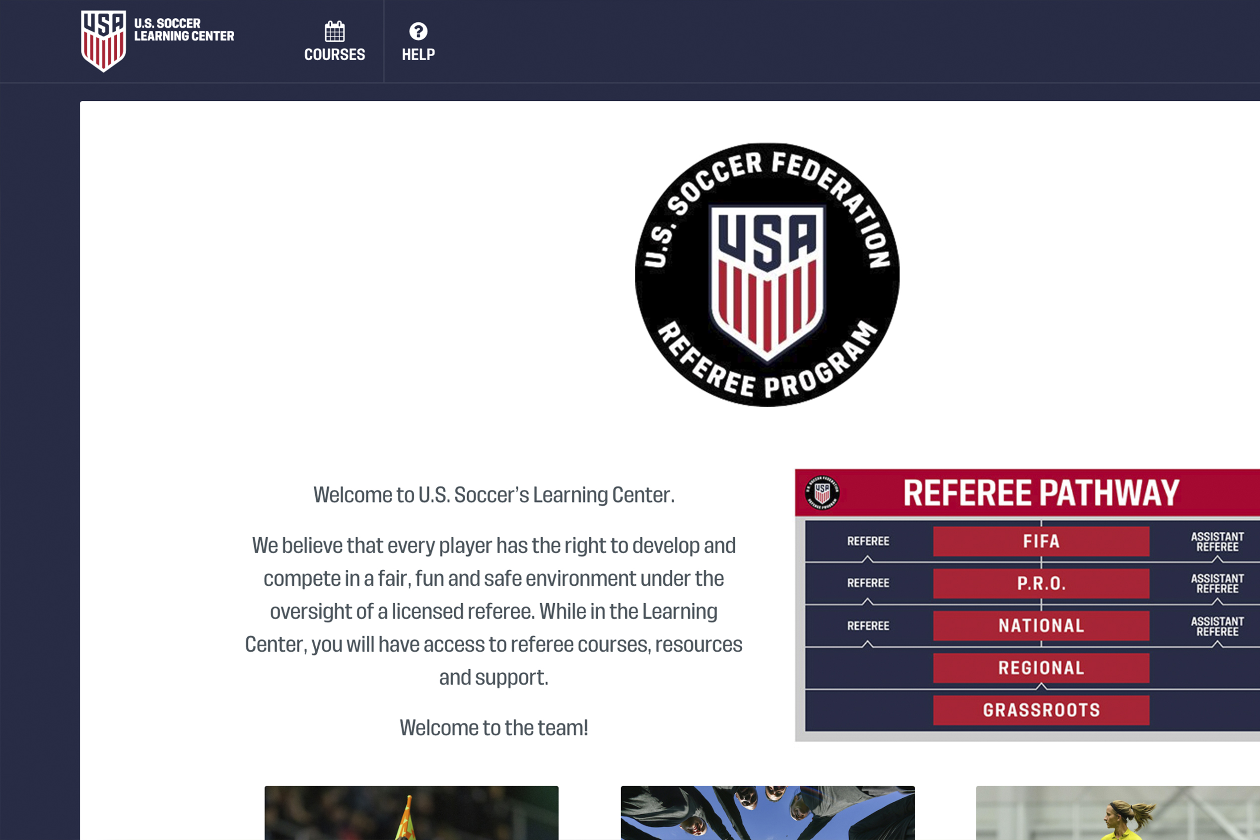 US Soccer Learning Center