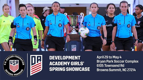The 2020 U.S. Soccer Development Academy Girls' Spring Cup application is now open!