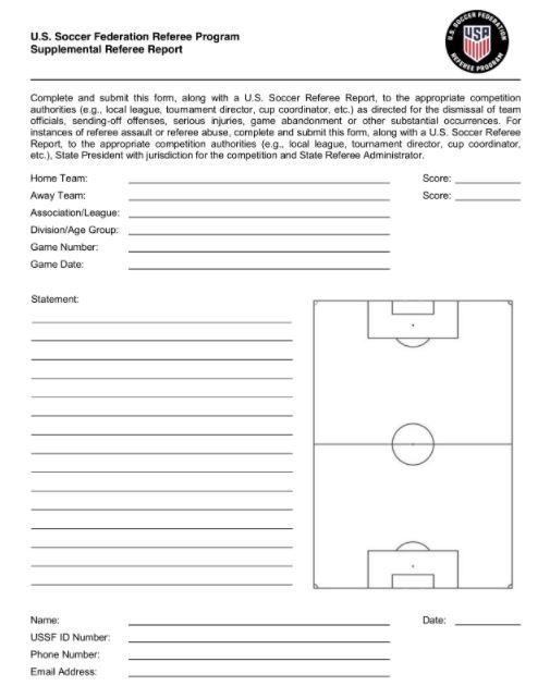 NH Referee Fall Update: 10/6/2020